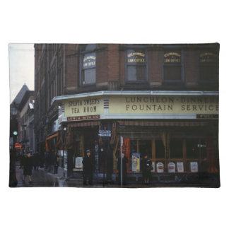 1940s Restaurant Placemat