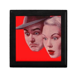1940s Sherman and Marsha are SURPRISED Keepsake Box