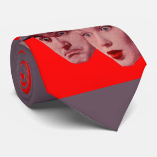 1940s Sherman and Marsha are SURPRISED Neck Tie