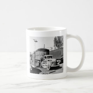 1940s Truck Stop Classic White Coffee Mug
