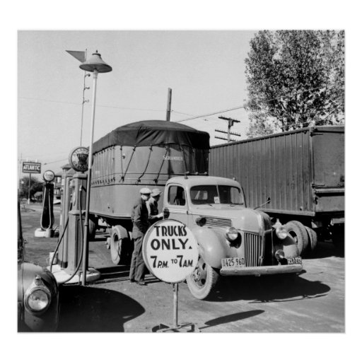 1940s Truck Stop Posters