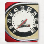 1940s Vintage Speedometer Closeup Mouse Pad