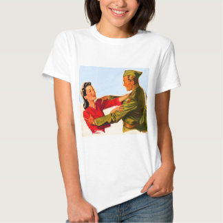 1940s WWII home from the war T-shirt