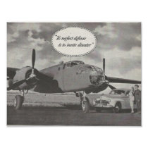 1941 Ad Defense Theme. Aircraft.