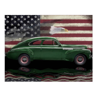 1941 Buick Century Patriot Postcard