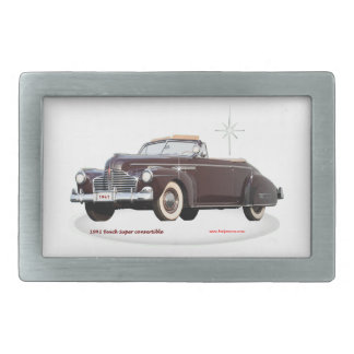 1941_Buick_Super_convertible Belt Buckle
