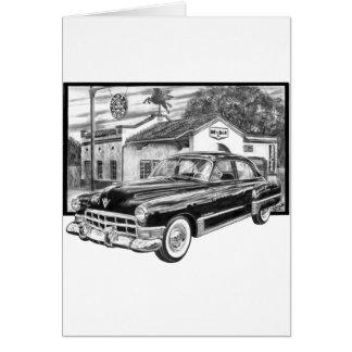 1941 Cadillac Card