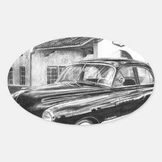 1941 Cadillac Oval Sticker