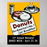 1941 Donut Poster