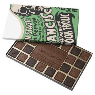 1941 Francisco Spook Frolic 45 Piece Box Of Chocolates