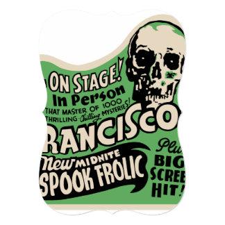 1941 Francisco Spook Frolic 5x7 Paper Invitation Card