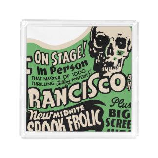 1941 Francisco Spook Frolic Acrylic Tray