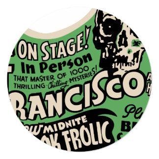 1941 Francisco Spook Frolic Invitation