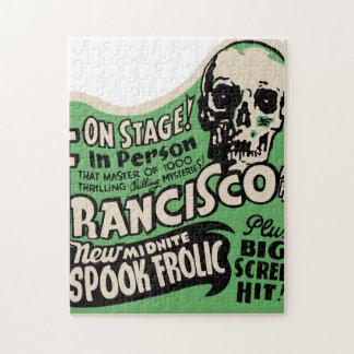 1941 Francisco Spook Frolic Jigsaw Puzzle