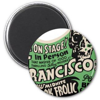 1941 Francisco Spook Frolic Magnet
