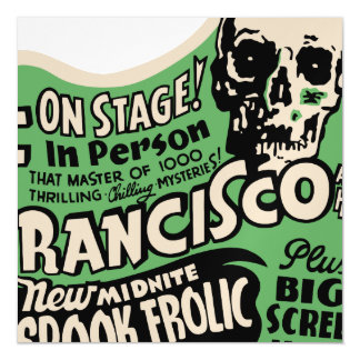 1941 Francisco Spook Frolic Magnetic Card