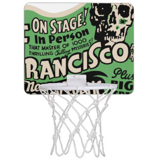 1941 Francisco Spook Frolic Mini Basketball Hoop
