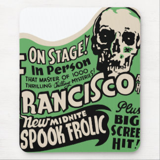 1941 Francisco Spook Frolic Mouse Pad