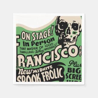 1941 Francisco Spook Frolic Napkin