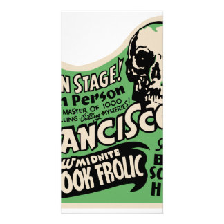 1941 Francisco Spook Frolic Photo Card