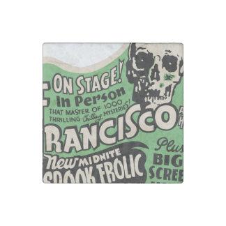 1941 Francisco Spook Frolic Stone Magnet