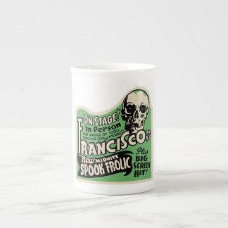 1941 Francisco Spook Frolic Tea Cup