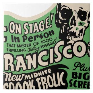 1941 Francisco Spook Frolic Tile