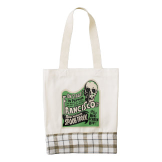 1941 Francisco Spook Frolic Zazzle HEART Tote Bag
