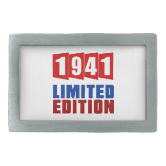 1941 Limited Edition Rectangular Belt Buckle