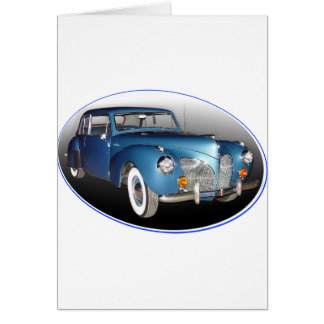 1941 LINCOLN CONTINENTAL #1 CARD