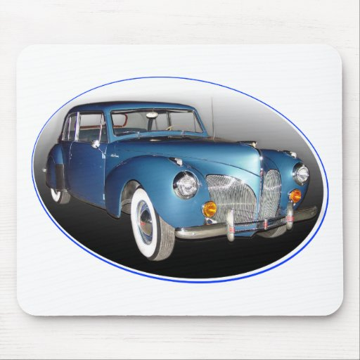 1941 LINCOLN CONTINENTAL #1 MOUSE MATS
