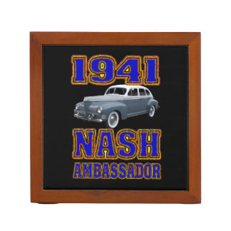 1941 Nash Ambassador Desk Organizer. Pencil/Pen Holder