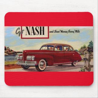 1941 Nash automobile ad Mouse Pad