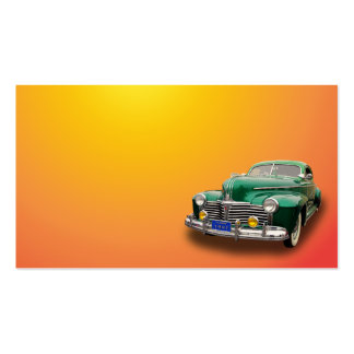 1941 PONTIAC Double-Sided STANDARD BUSINESS CARDS (Pack OF 100)