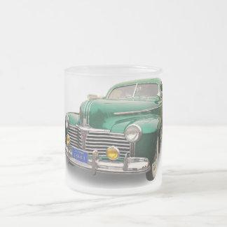 1941 PONTIAC FROSTED GLASS COFFEE MUG