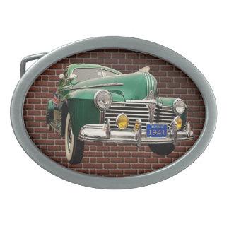 1941 PONTIAC OVAL BELT BUCKLE