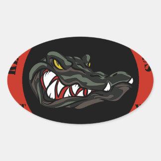1941 Red Oval Sticker