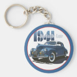1941 Special DeLuxe Coupe Basic Round Button Keychain