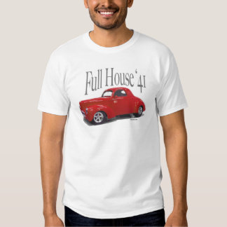 1941 Willys Coupe Drag Car T-Shirt