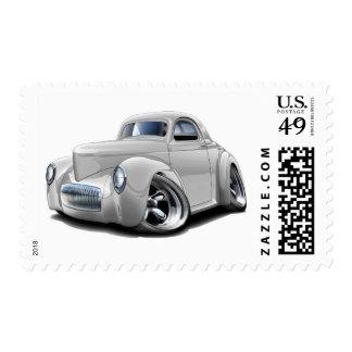 1941 Willys White Car Postage