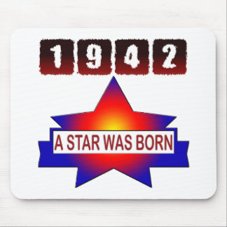 1942 A Star Was Born Mouse Pad