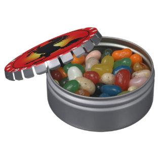 1942 años del caballo frascos de dulces