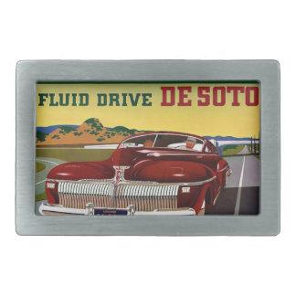 1942 DeSoto Chrysler Classic Car Belt Buckles