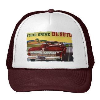 1942 DeSoto Chrysler Classic Car Mesh Hats