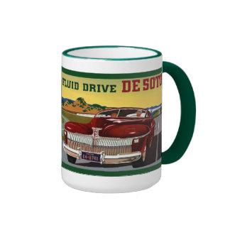 1942 DeSoto Chrysler Classic Car Ringer Mug