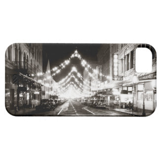 1942 Honolulu's Fort Street at Night iPhone SE/5/5s Case