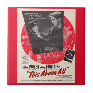 1942 This Above All movie poster Tile
