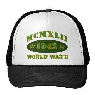 1942 World War II (Light) Trucker Hat