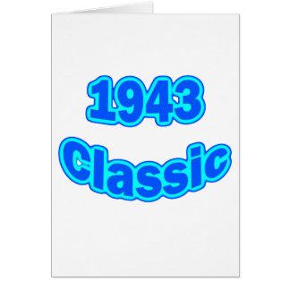 1943 Classic Blue Card