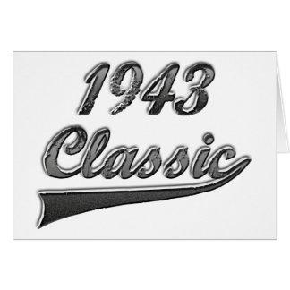 1943 Classic Card